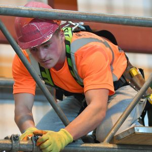CISRS Part 2 Scaffolding training course with the Weston College SOMAX construction training centre