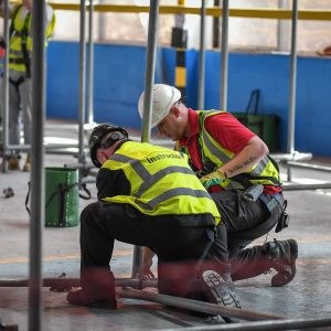 CISRS Part One Scaffolding course with the Weston College SOMAX construction training centre
