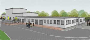 Weston College Construction Training Centre CGI