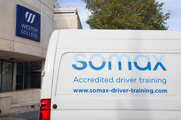 Driver Training Courses with Weston College Somax